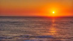 Lincoln City Sunset (Michael E(xplorer) S.) Tags: sunset lincolncity ocean orange oregon pacific sea tad waves
