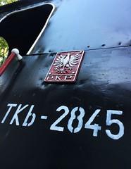 TKb-2845 (roomman) Tags: steam engine dampflok black colour old history historic class baureihe cab cabin close detail near sign tkb tkb2845 2845
