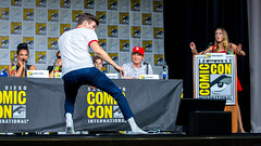 Grant Gustin (TheGeekLens) Tags: sdcc sandiegocomiccon 2018 sandiego comiccon celebrity event cw flash theflash grantgustin