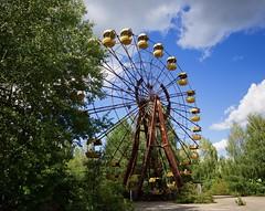 Ferris Wheel (Sarah Marston) Tags: pripyat ferriswheel pripyatamusementpark chernobyl ukraine abandoned abandonedplaces radioactive sony alpha a77 august 2018