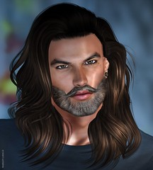 Edu Wan (margot.lasalle) Tags: portrait man longhair beard sexy