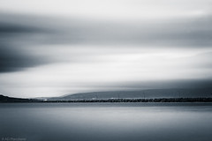 The pace of time (Anthony P.26) Tags: bandirma category longexposure places seascape travel turkey port harbour motionblur cloudblur greyclouds tint colourtint monochrome mono clouds water sea canon1585mm canon70d canon