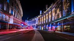 London streaks (Jim Nix / Nomadic Pursuits) Tags: england europe london macphun skylum sony sonya7ii uk unitedkingdom travel aurorahdr2018 lighttrails doubledeckerbus night nightimage jimnix nomadicpursuits