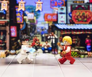 Street Fighter: Ryu vs Ken