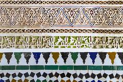 2018-4700 (storvandre) Tags: morocco marocco africa trip storvandre marrakech historic history casbah ksar bahia kasbah palace mosaic art