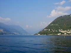 Lake Como (docwiththecamera) Tags: lake water sky mountain hill italy como cloud clouds building seascape
