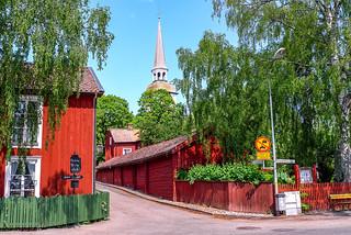 Sweden - Mariefred - Mariefreds kyrka