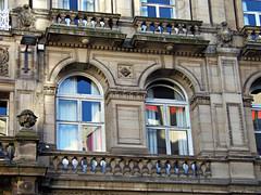 62 Castle Street Hotel, Liverpool, England (teresue) Tags: 2017 uk unitedkingdom greatbritain england merseyside liverpool castlestreet 62castlestreethotel windows hotel