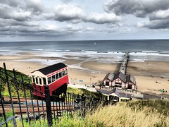 Saltburn-by-the-Sea (Tobymeg) Tags: the saltburn cliff lift is funicular railway saltburnbythesea northern england panasonic dmc fz72