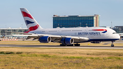 Airbus A380-841 G-XLEH British Airways (William Musculus) Tags: vancouver international airport spotting yvr cyvr gxleh british airways airbus a380841 richmond britishcolumbia canada ca a380800 ba baw