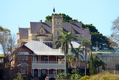 800_5502 (Lox Pix) Tags: australia architecture queensland qld brisbane brisbaneriver house building loxpix landscape hamilton ascot newstead bulimba albion crane