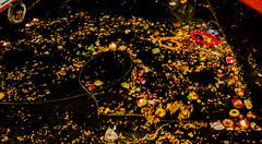 Ganga aarti remains | Varanasi 2017 (Vijayaraj PS) Tags: nikon varanasi kasi india heritage hindu hinduism ganga ganges water river incredibleindia light outdoor ghats asia travel boat bird people white background 2017 gangaaarti