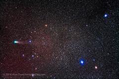 Comet Giacobini-Zinner (21P) Near The Kids in Auriga (Amazing Sky Photography) Tags: 21p almaaz astronomytools auriga comet giacobinizinner hoedus thekids periodic