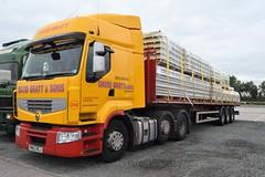 DSC_0009 (richellis1978) Tags: truck lorry haulage transport logistics cannock renault premium david bratt pn63oej