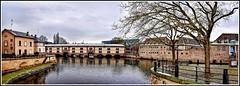 Barrage VAUBAN à Strasbourg (thierrybalint) Tags: petitefrance vauban barrage eau water fleuve arbres nikon nikoniste