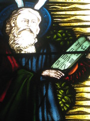 Detail of the Moses Window of the Triptych Lancet Chancel Windows; St Mark the Evangelist Church of England - George Street, Fitzroy (raaen99) Tags: moses tencommandments malesaint saint brooksrobinsonandcompany brooksrobinsoncompany brooksrobinsonstainedglass brooksrobinsoncompanystainedglass brooksrobinsonandcompanystainedglass stainedglass 20thcenturystainedglass twentiethcenturystainedglass 1920s 20s allegory allegorical symbol symbolism bible biblical stmarktheevangelist stmarks stmarksfitzroy stmarksanglican churchofengland anglicanchurch anglican fitzroychurch fitzroy georgest georgestreet church placeofworship religion religiousbuilding religious melbourne nineteenthcentury victorian victoriana 19thcentury victoria australia gothicarchitecture gothicrevivalarchitecture gothicrevivalchurch gothicchurch gothicbuilding gothicrevivalbuilding gothicstyle gothicrevivalstyle window gothic gothicdetail lancetwindow