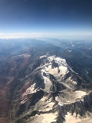 Mont Blanc from above (iPhone 8+) (Xerones) Tags: appreciation wonder fromtheair montblanc iphone