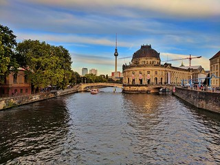 The Bode Museum on the Museum Island in Berlin, Germany