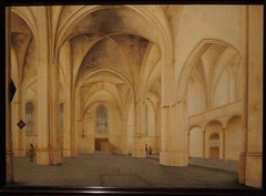 Interior of the Cunerakerk in Rhenen; 1655; painting by Pieter Jansz (M_Strasser) Tags: mauritshuis olympus olympusomdem1 holland netherlands