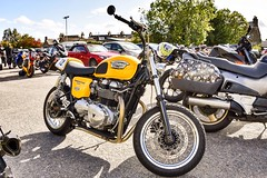 Triumph Thruxton 900 - Alford Aberdeenshire Scotland - 9/9/18 (DanoAberdeen) Tags: triumphthruxton900 thruxton danoaberdeen grampiantransportmuseum geotagged candid amateur alford aberdeenshire 2018 kawasaki honda triumph bsa bike bikers biker gtm gala gathering festival show suzuki harleydavidson vintage classic oldtimer museum tt f1 grandprix motorcycle motorbike racing goldwing offroad scooter moped bmw scotch madein ducati triples badge logo sporster restoration petrolheads conservation aprilla transport enfield rare new customised convention trike reunion autumn summer winter spring speed championships motography moto superbike motocyclisme racingbike motocicleta motor engine bikerlife cc roadtrip