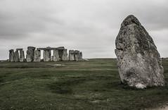Stone and Henge (PaulEBennett) Tags: stonehenge heelstone ancient monument