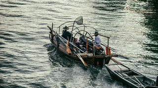 fisherman on their way back