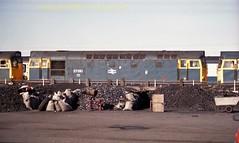 Falkland Yard 27010 12july86 a364 (Ernies Railway Archive) Tags: ayr falklandyard gswr lms scotrail