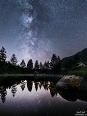 Lac de St Grat (sans les nuages) (lesphotosdesam.com) Tags: vl voielactée site