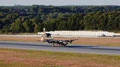 Collings Foundation B-24J Liberator (BenWestPhotography) Tags: canon canon5d 5d 70200f4l 70200 lseries btv kbtv vermont burlingtoninternationalairport burlington dxo airplane b24j b24 collingsfoundation wingsoffreedom consolidated n224j
