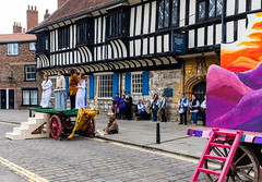 York Mystery Plays 2018 (alh1) Tags: cainabel thelordsofmisruleforthecompanyofmerchanttaylors waggonplays yorkmysteryplays2018 collegegreen england northyorkshire york collegegreenenglandnorth yorkshire