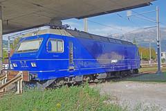 IMGP1790a (Alvier) Tags: schweiz rheintal werdenberg buchs bahnhof re456 lokomotive müllergleisbauag