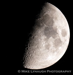 Waxing Gibbous Moon - 8/18/18 (mikelynaugh) Tags: night astronomy astrophotos astrophotography canon6d canon 925sct celestron925 celestron moonphotography moonphoto luna themoon waxinggibbous moon