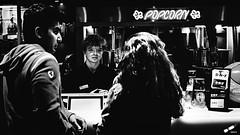 At the movies (rvrossel) Tags: blackandwhite bnw bw street movies people fuji fujilove fujishooters fujixpro2 xpro2 cinema