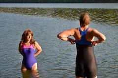 Nové plavky Nabaiji (mermanpetleotard) Tags: plavky jednodílné onepiece swimsuit swimwear einteiligen badeanzug badeanzüge maillots de bain lycra spandex leotard trikot
