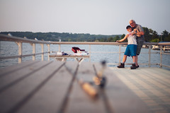 Catch of the day (jrobfoto.com) Tags: leicam raw beulah fishing jeffery cole 240 dad voigtlanderultron28mmf2 family fullframe m leica crystallake michigan unitedstates us