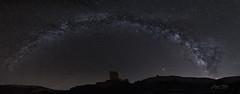 VL en el Castillo de Paracuellos (Juan Tecles) Tags: vl vialactea lechera estrellas vía lactea milky way paracuellos castillo panoramica