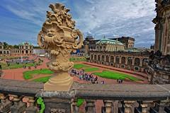 Dresden, the beauty (Tobi_2008) Tags: dresden zwinger architektur stadt city town sachsen saxony deutschland germany allemagne germania