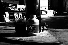 Give it Back  !!! (imagejoe) Tags: vegas nevada street strip black white photographs photos shadows reflections people tamron nikon