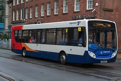 Stagecoach Manchester SK15HFV (Mike McNiven) Tags: stagecoach manchester alexanderdennis enviro300 wigan leigh manchesterpiccadilly piccadilly piccadillygardens