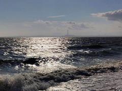 5-Fawley from Meon Shore (Chris@YellowMopArt) Tags: titchfield haven meon shore solent coast beach shingle waves