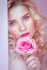 *** (TatianaAntoshina) Tags: portrait postprocessing person photo pink pretty lips nymph roses retouch