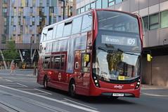 AL 2493 @ West Croydon bus station (ianjpoole) Tags: abellio london alexander dennis enviro 400mmc yy64typ 2493 working route 109 taberner house croydon brixton station