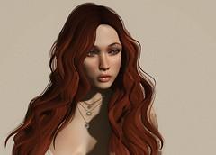 second to you (Ms. Rainfall) Tags: secondlife avatar sexy ginger redhead shadows maitreya catwa kathy truth jojo truthhair kibitz mandala skinnery carolg zora addams