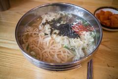 Korean St Udon. (Kim Jin Ho) Tags: korea seoul traditional food anchovy udon seaweed kimchi
