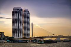 Rama VIII Bridge, Bangkok (CamelKW) Tags: thailand2018 ramaviiibridge bangkok bangkokmetropolitanregion thailand th