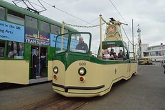 Boat 600 (PD3.) Tags: boat 600 blackpool fleetwood fylde lancashire transport bus buses trams tram north pier central south pleasure beach pcv psv talbot square heritage