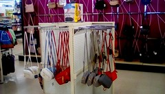 Colorful handbags! (Maenette1) Tags: colorful handbags accessories kmart menominee uppermichigan flicker365 allthingsmichigan absolutemichigan projectmichigan