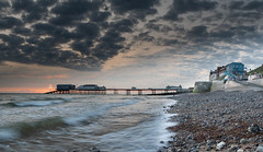 Dawn at Cromer (andybam1955) Tags: seascape beach cromer clouds cromerpier pier coastal landscape sky northnorfolk rural cromerdawn norfolk sea