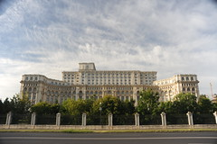 Palace of Parlaiment (Marwanhaddad) Tags: travel romania landscape cityscape building monument