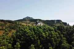 Cabana Dochia 1750m (armaggedon_cristi) Tags: ceahlau mountains dochia hiking romania carpathians carpati roumanie rumanien landscape peak hut